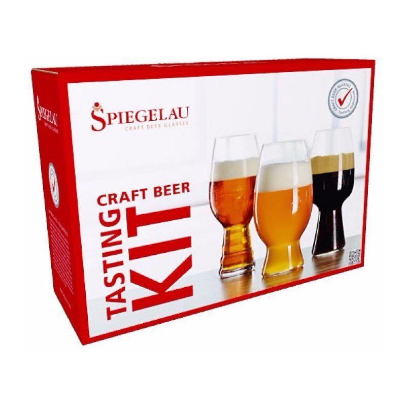 Spiegelau Craft Beer Tasting Kit: IPA. American Wheat Beer ja Stout