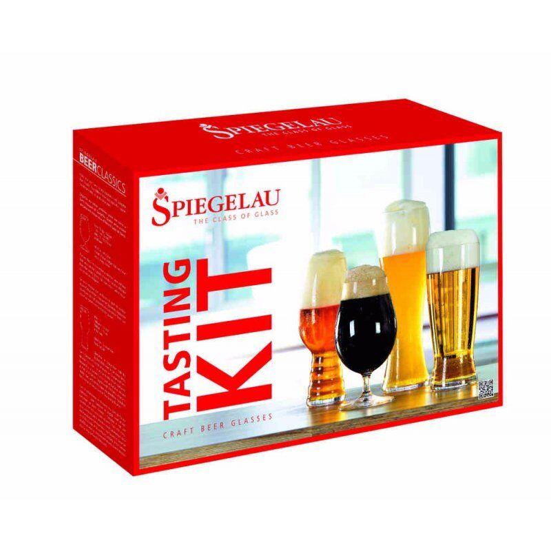 Spiegelau Tasting Kit: IPA. Tulip. Hefeweizen ja Lager