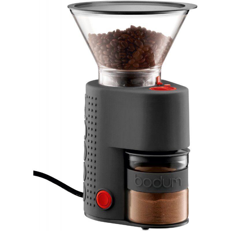 Bodum Bistro kahvimylly musta