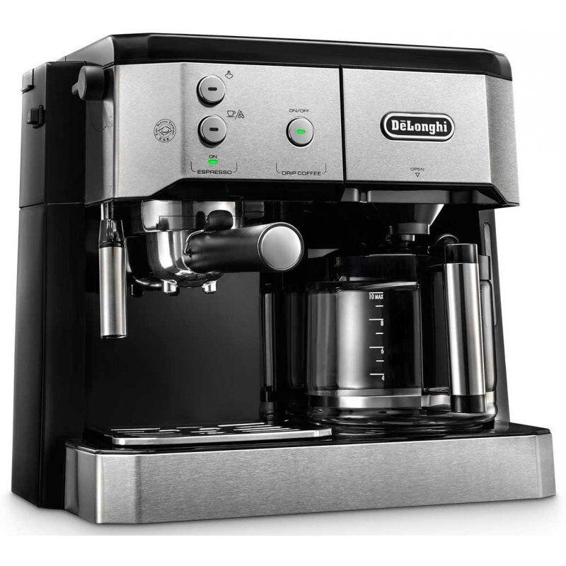 DeLonghi BCO421.S Combi yhdistelmäkeitin (espresso ja suodatinkahvi)