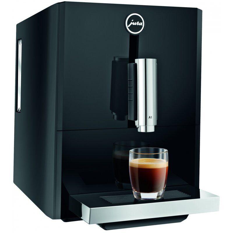 Jura A1 -kahviautomaatti. musta