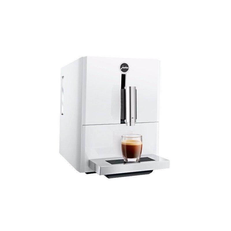 Jura A1 -kahviautomaatti. valkoinen