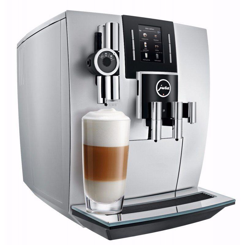 Jura J6 Brilliant Silver kahviautomaatti