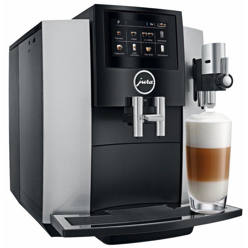 Jura S8 Moonlight Silver kahviautomaatti