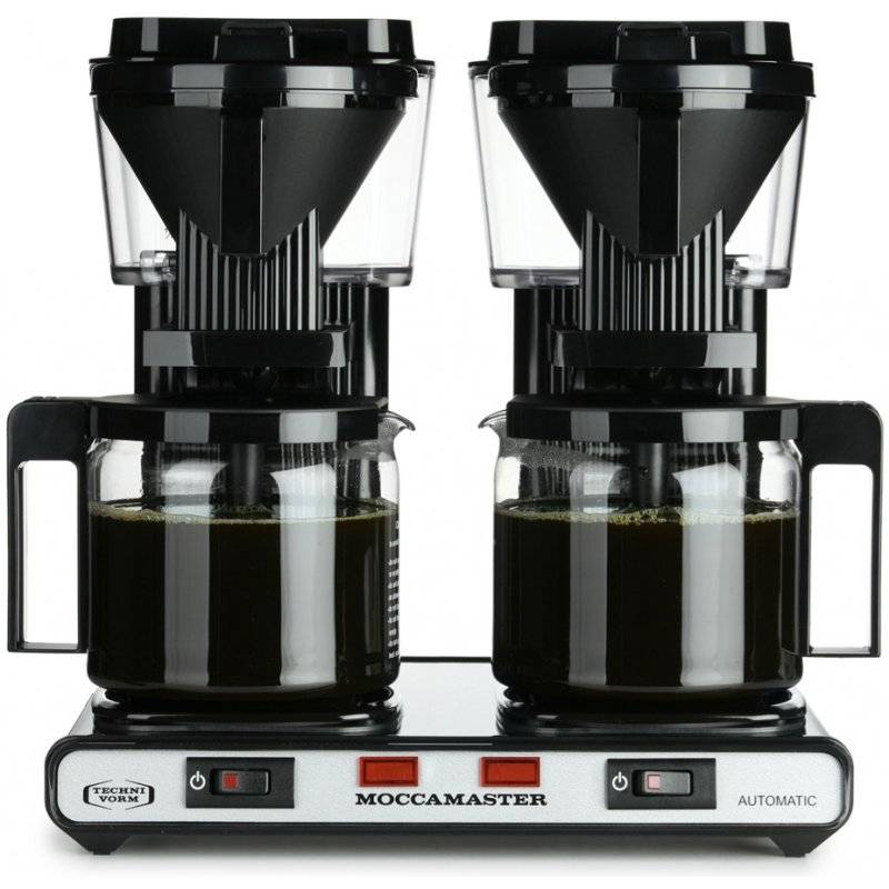 Moccamaster KBG744-AO tupla-kahvinkeitin musta