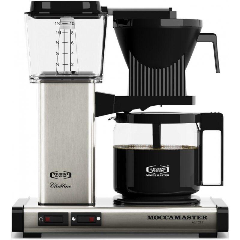 Moccamaster KBG962AO kahvinkeitin 10 kuppia. 1.25 l. harjattu teräs