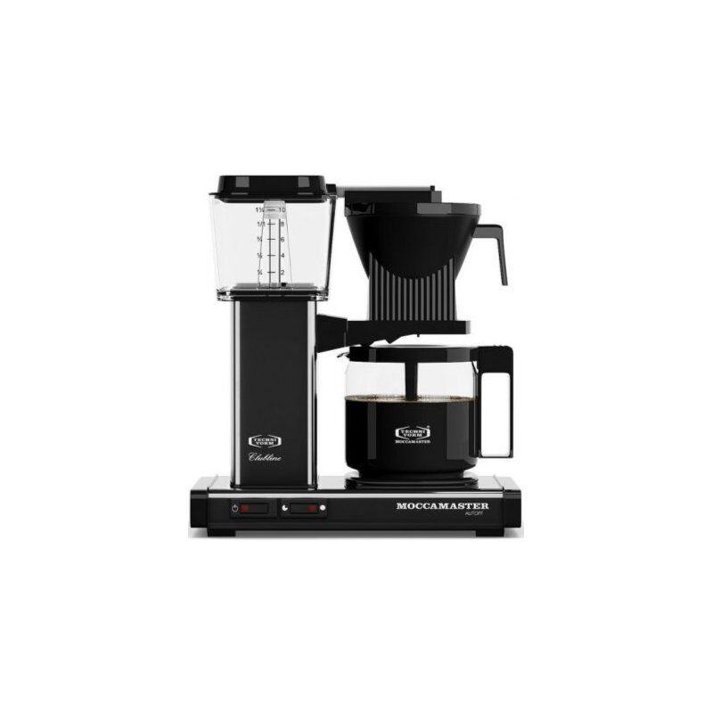 Moccamaster KBG962AO kahvinkeitin 10 kuppia. 1.25 l. musta metallic