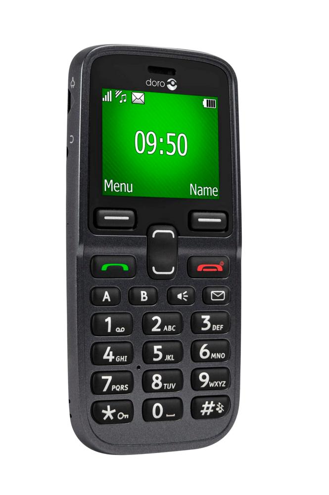 Doro 5031-matkapuhelin, musta