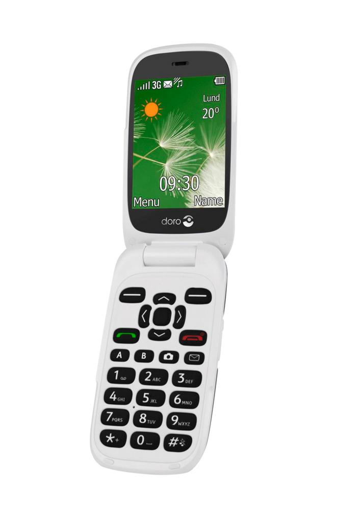 Doro 6521 3G Graphite/White