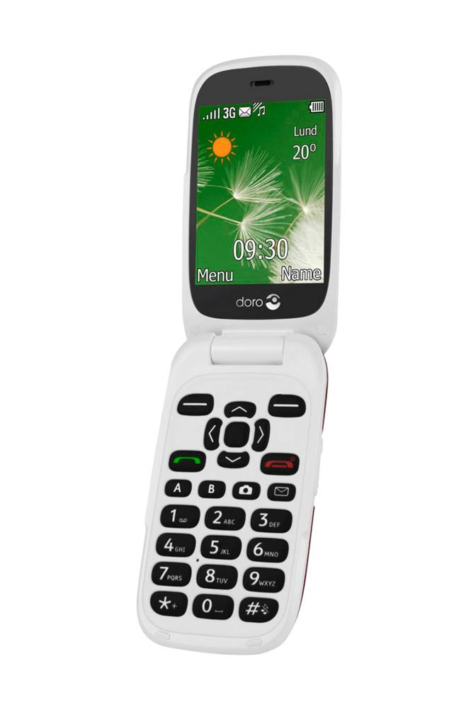 Doro 6521 3G Red/White