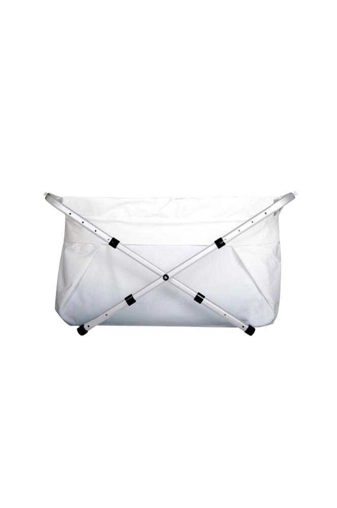 Bibabad Flexi -kylpyamme, 60-80 cm, valkoinen