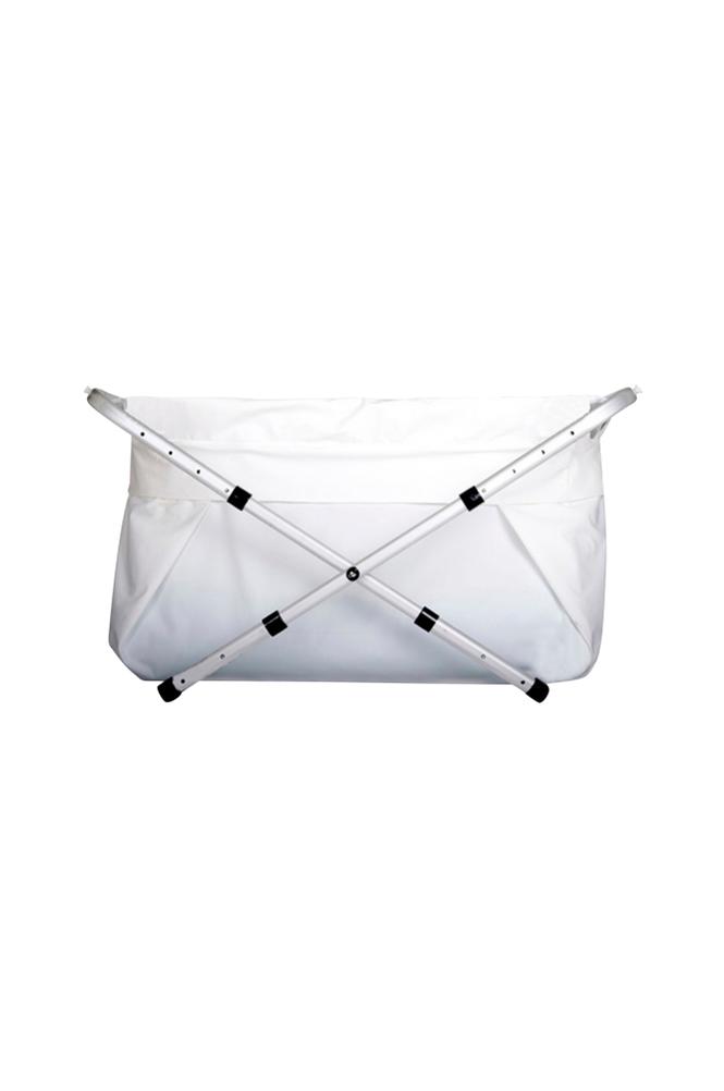 Bibabad Flexi -kylpyamme 80 100 cm valkoinen