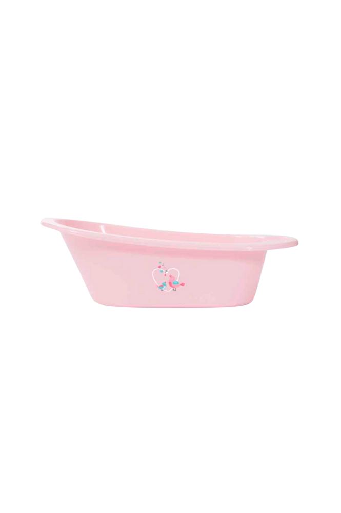 Bébé Jou Birds-kylpyamme, roosa