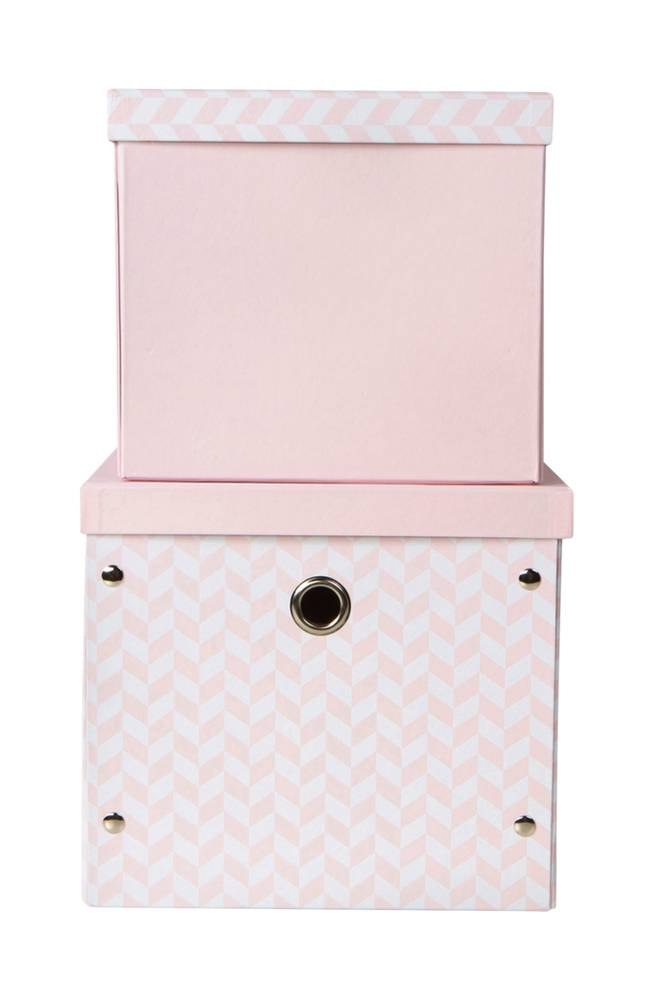 Vinter & Bloom Säilytyslaatikot, 2/pakk. roosa