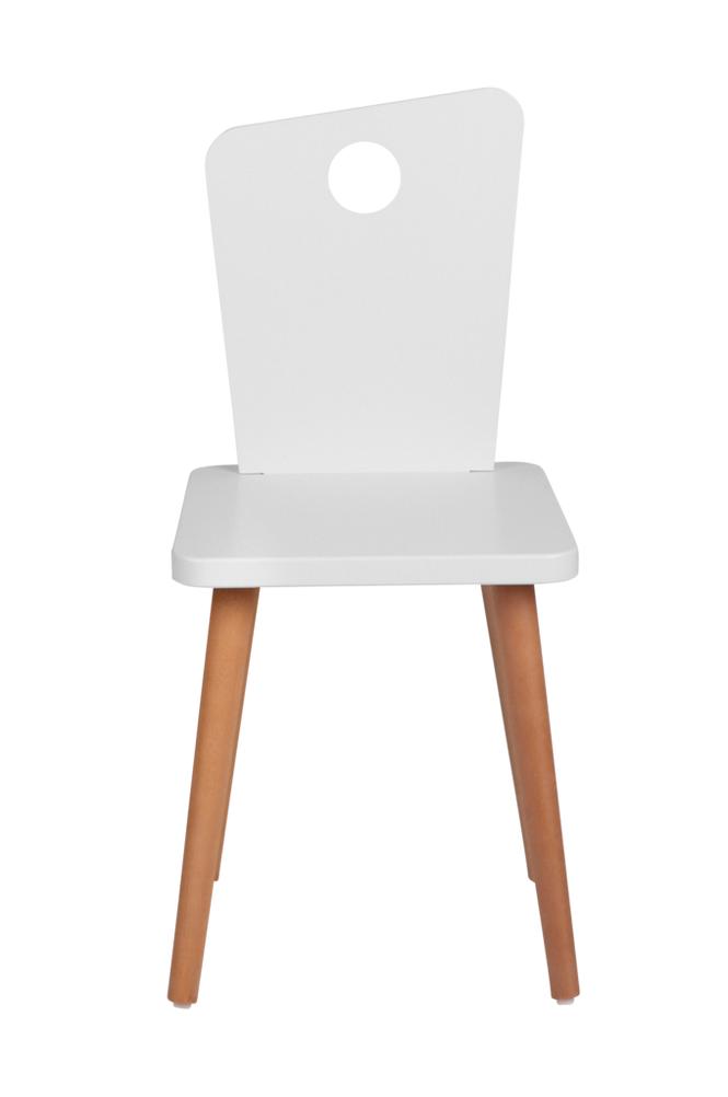 Troll Tuoli, valkoinen/tiikki