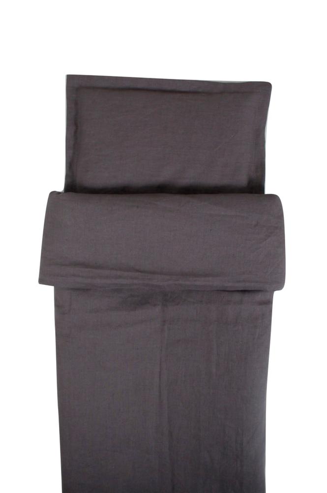 NG Baby Graphite Grey -pussilakana pinnasänkyyn 100 x 130 cm