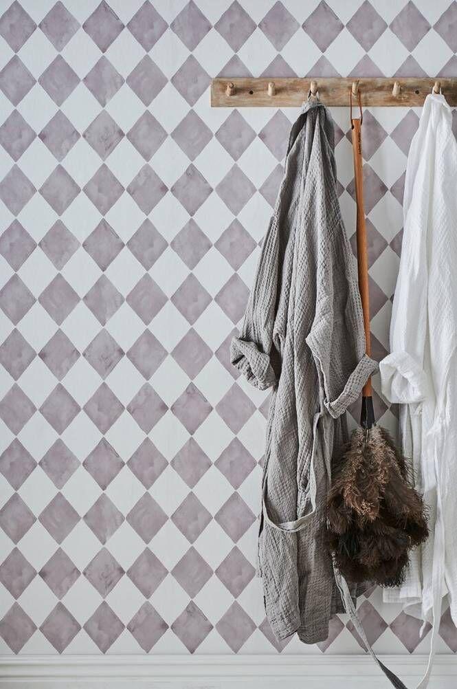 Wallpaper by ellos Harmony-tapetti, vaaleanharmaa