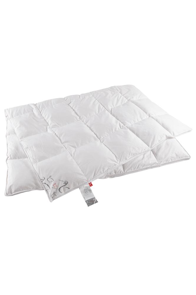 Ringsted Dun Ylellinen untuvapeitto kapeaan sänkyyn, viileä, 150x210 cm