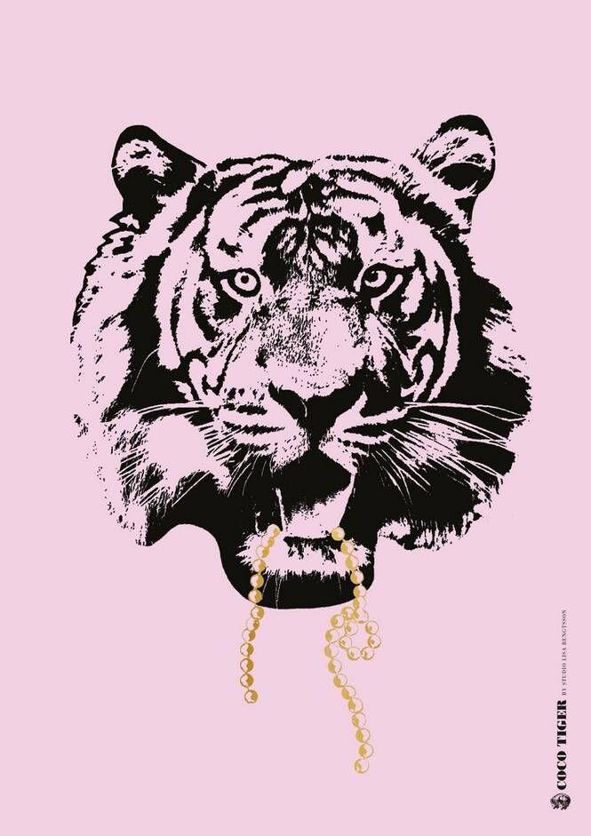 Studio Lisa Bengtsson Pink Coco A3 -juliste