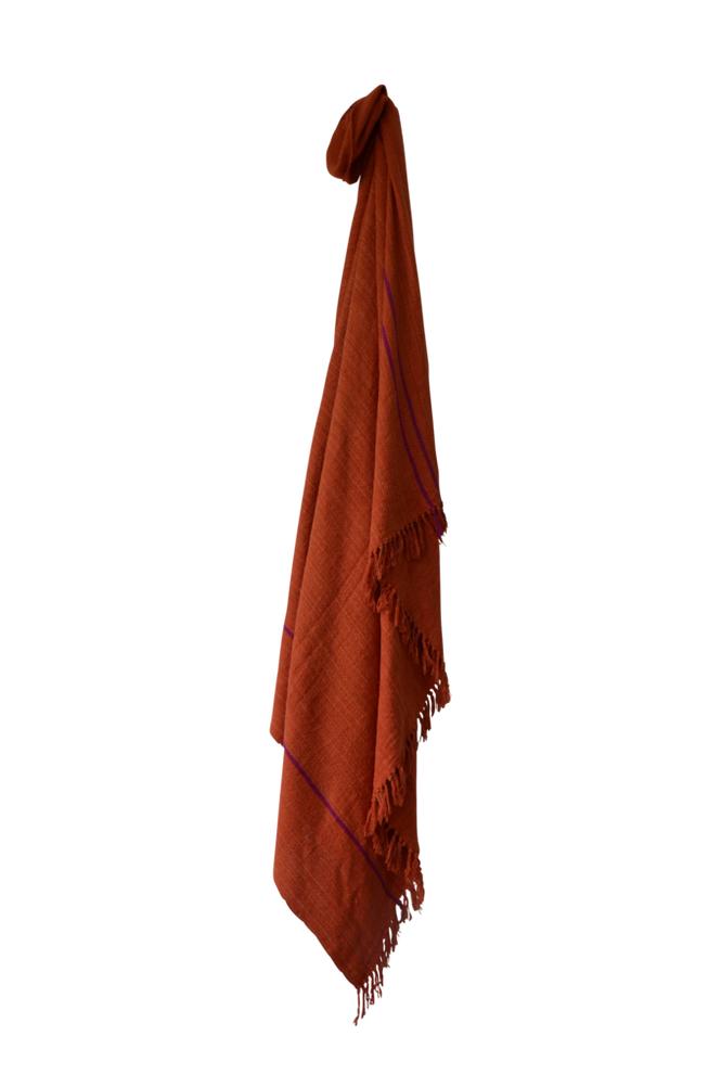Mimou Azabu-torkkupeitto pehmeää silkkiä