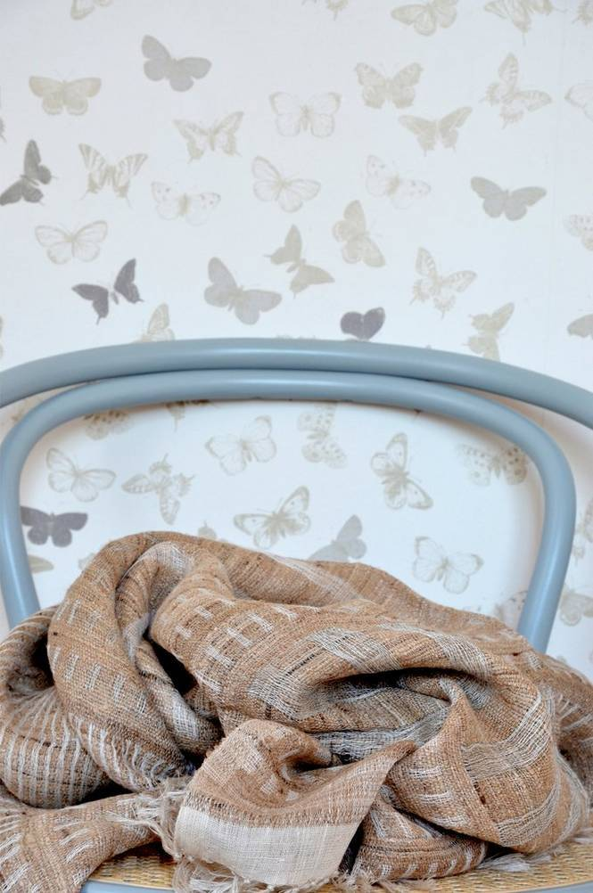 Mimou Tabby-torkkupeitto silkkiä/pellavaa