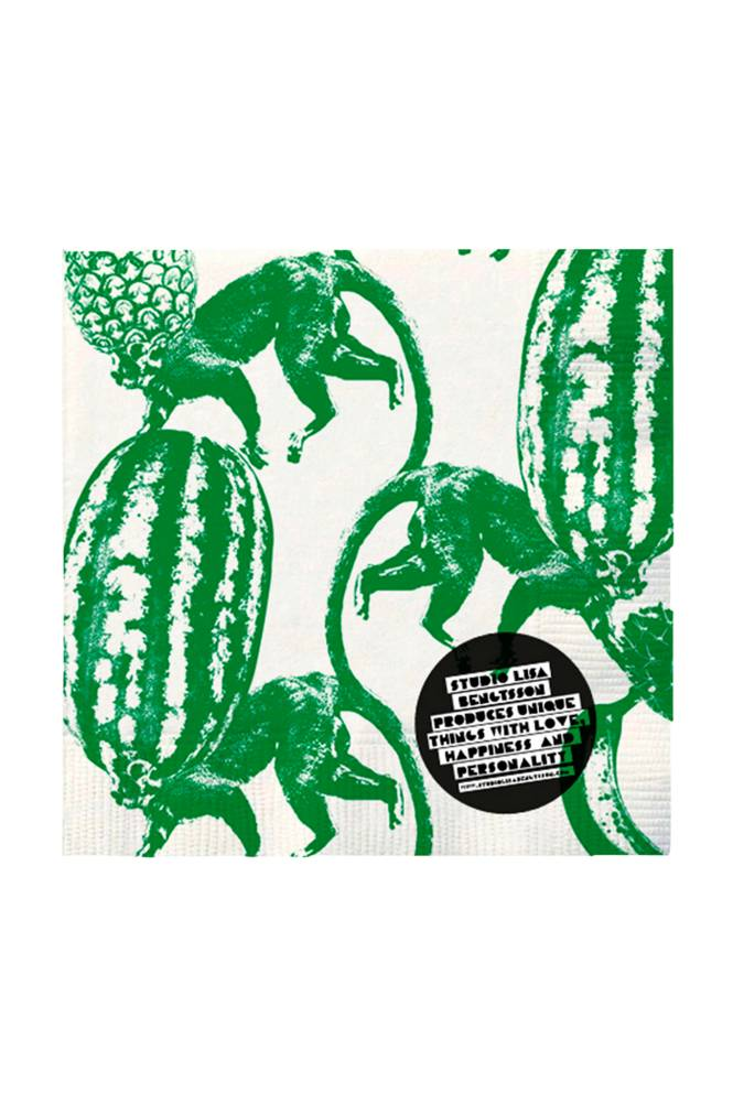 Studio Lisa Bengtsson Funky Monkey -lautasliinat, 20/pakk.