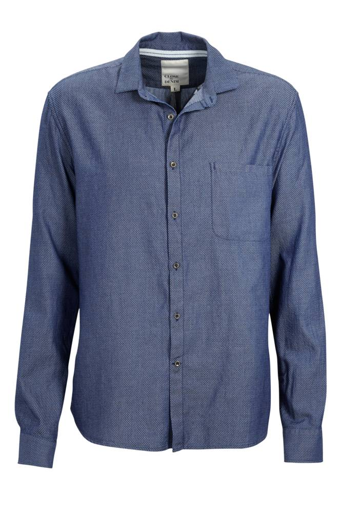 CLOSE by DENIM The Indigo Washed Shirt