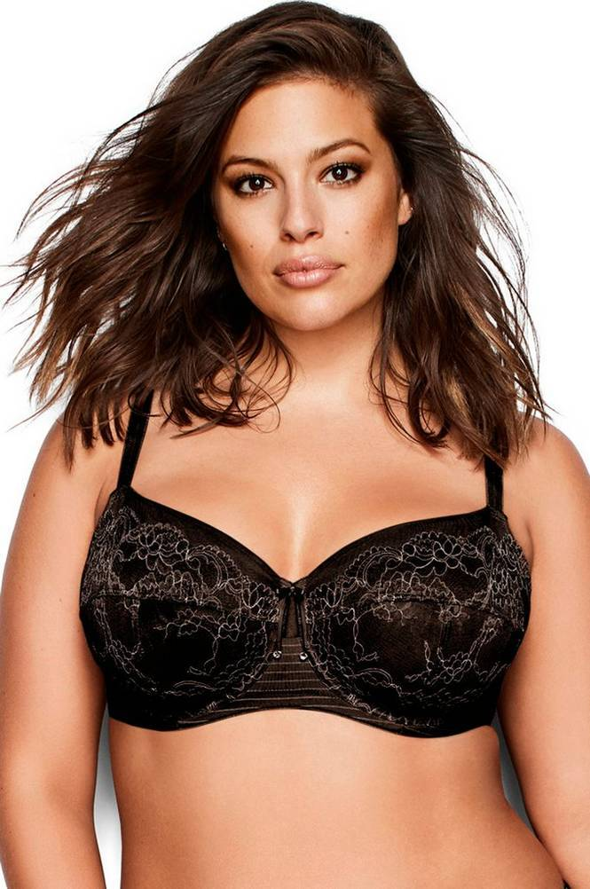 Ashley Graham Seamed Fatal Attraction -kaariliivit