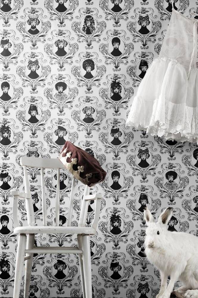 Studio Lisa Bengtsson Tillsammans-paperitapetti