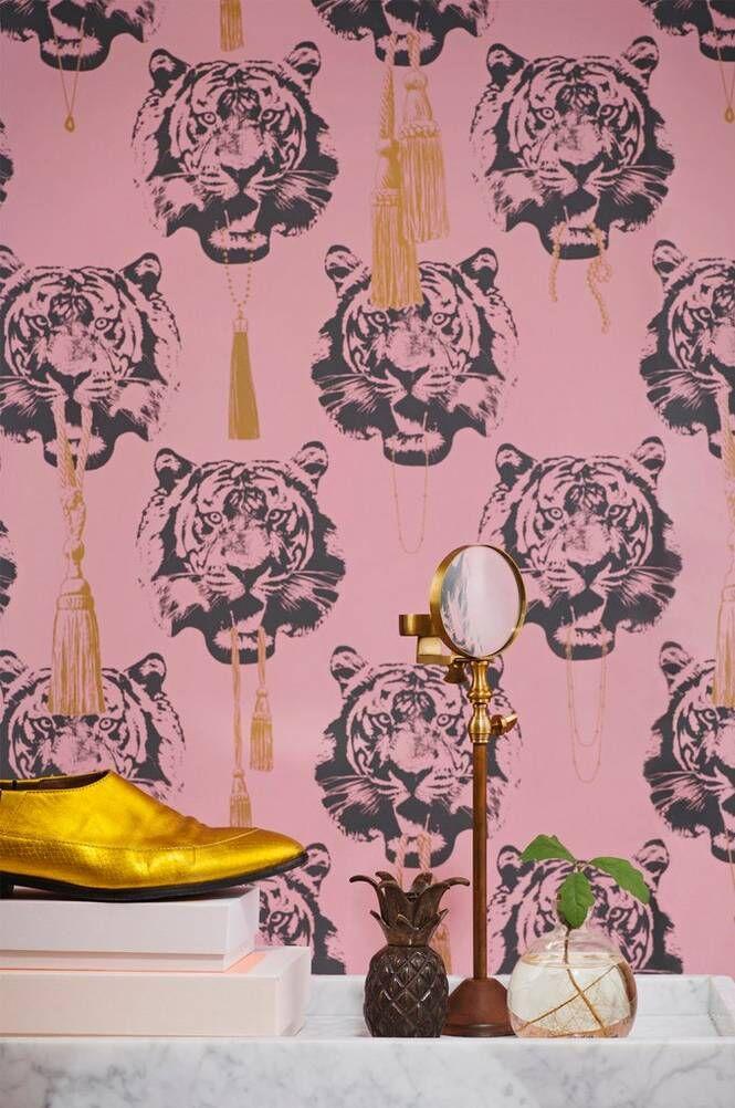 Studio Lisa Bengtsson Coco Tiger -paperitapetti