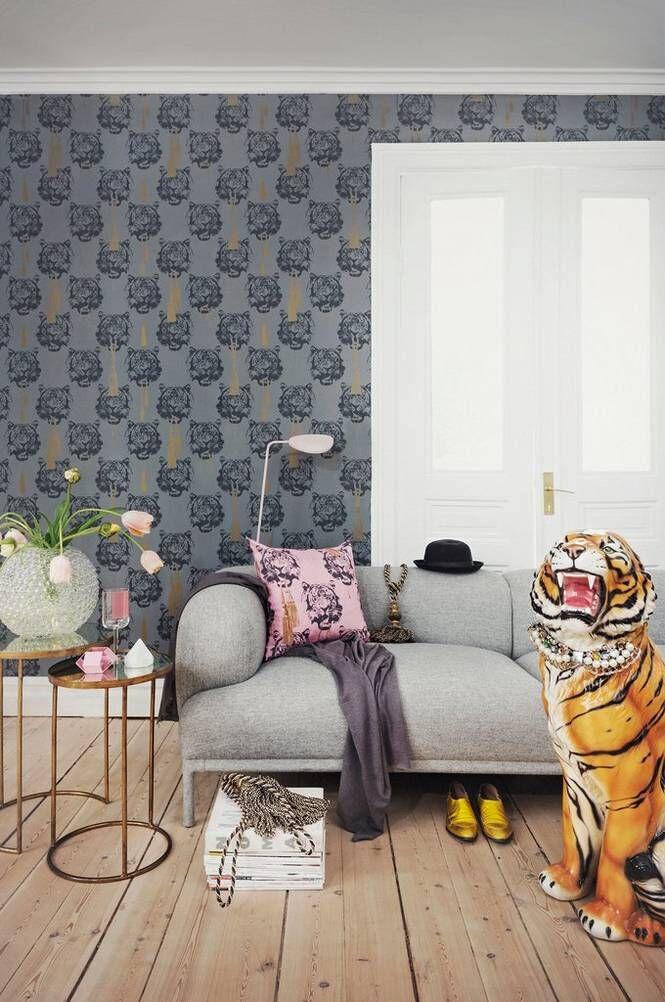 Studio Lisa Bengtsson Coco Tiger paperitapetti
