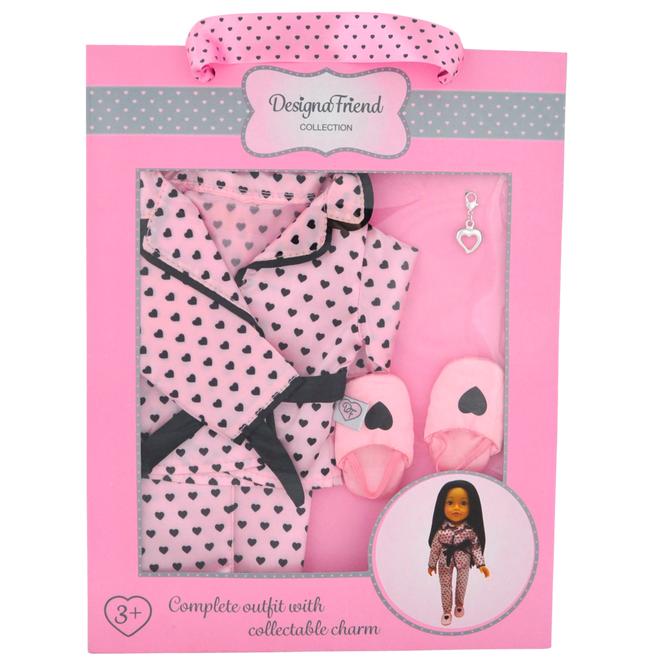 DesignaFriend Pretty Pyjamas -nukenvaatesetti