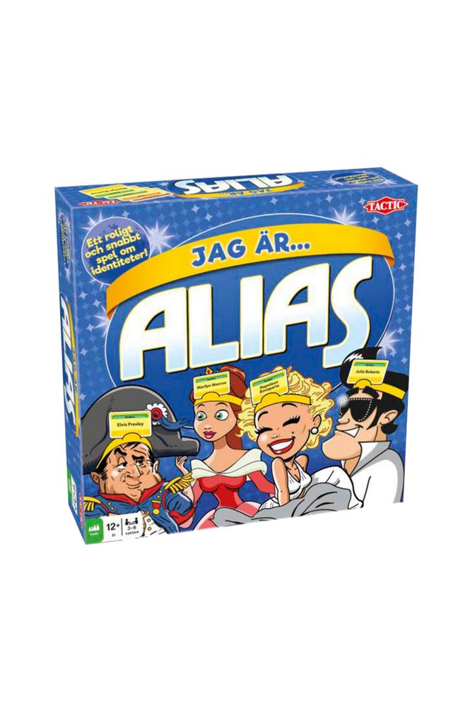 Tactic Jag är Alias -perhepeli