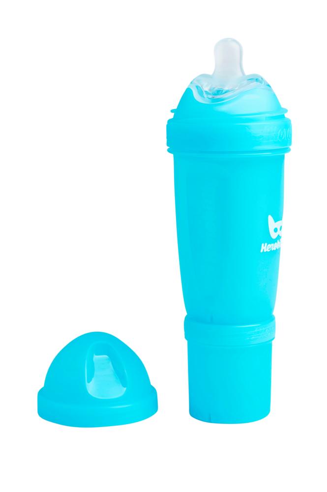 Herobility Sininen HeroBottle-tuttipullo, 340 ml