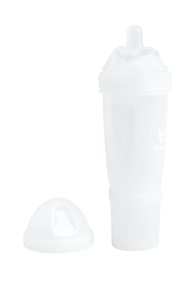 Herobility HeroBottle-tuttipullo 340 ml, valkoinen