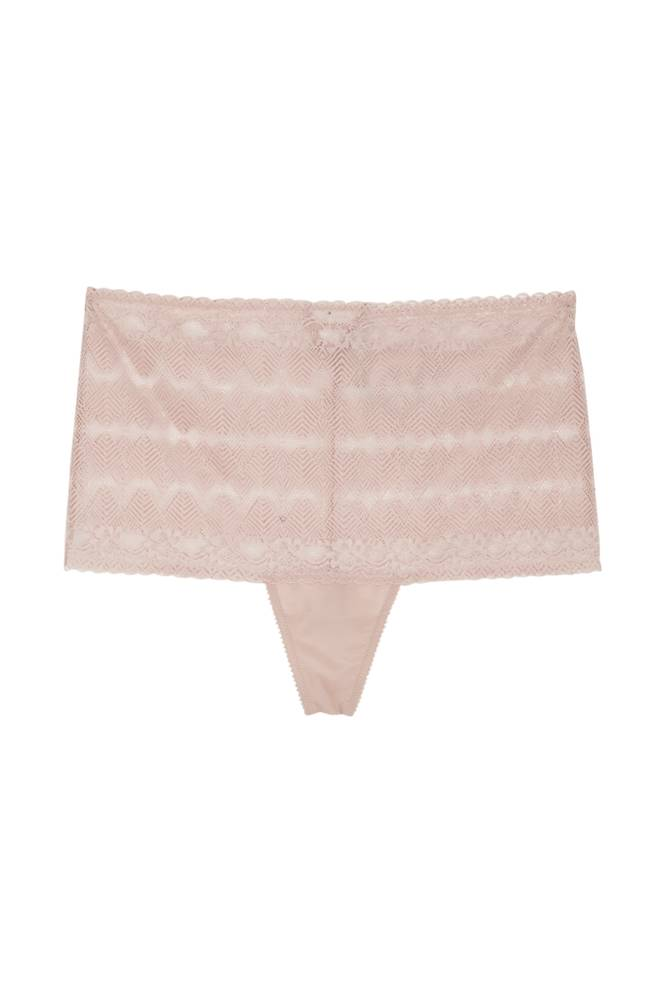Ashley Graham String Lace -hipsterit