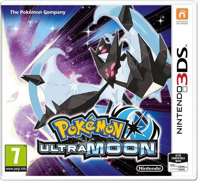Nintendo Pokémon Ultra Moon -peli 3DS