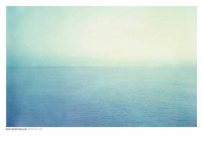 Dan Isaac Wallin Pasifico 123 -juliste, 70 x 100 cm