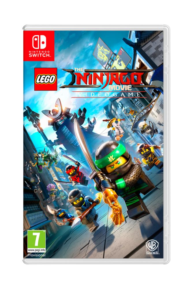Lego Ninjago -peli Nintendo Switch