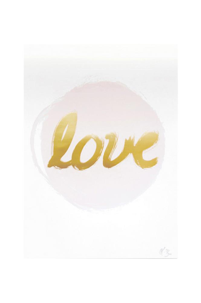 Kortkartellet Love-juliste, A3