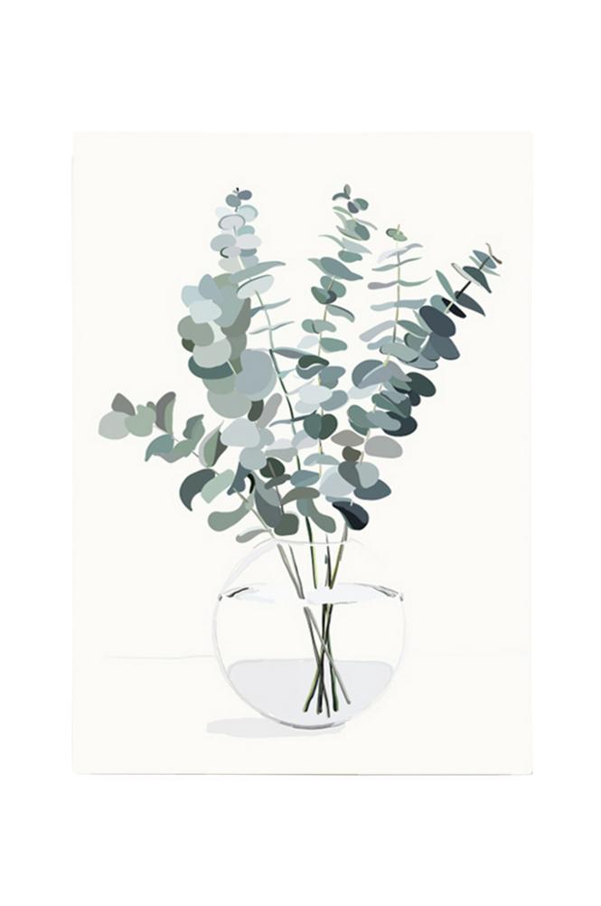 Kortkartellet Eucalyptus A3 -juliste