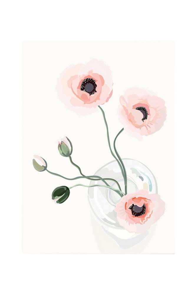 Kortkartellet Poppy-juliste A3