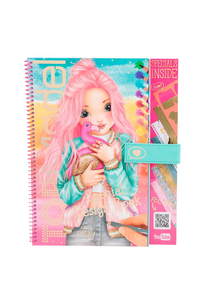 TopModel Flamingo Special Design Book -askartelukirja
