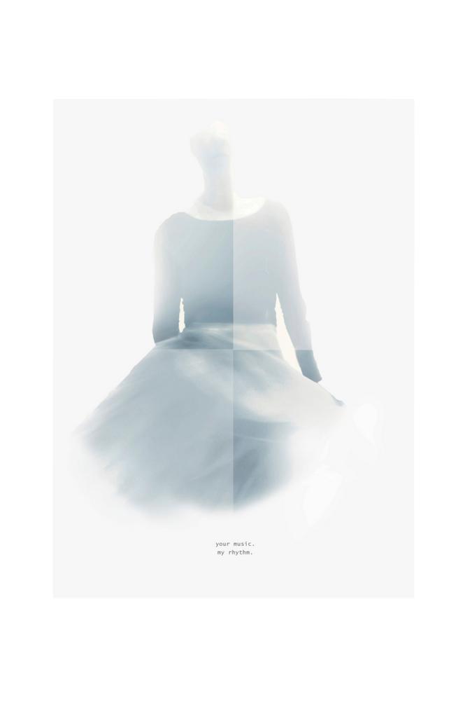 Ingrid Kraiser Your Music -taulu 50x70 cm