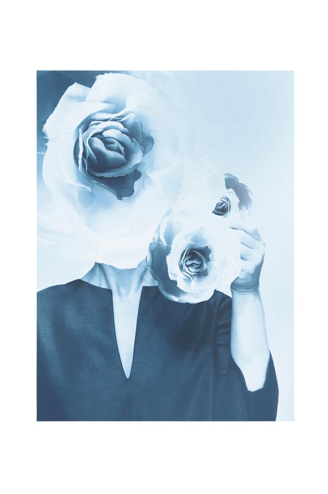 Ingrid Kraiser Blomsterdröm-juliste 70x100 cm
