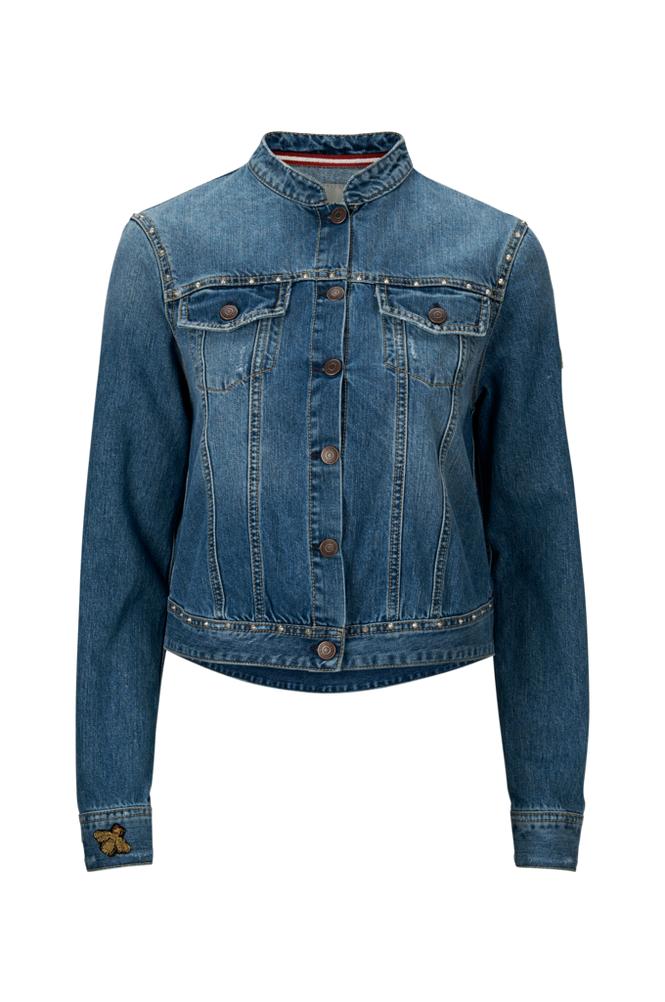 Hunkydory Rudy Studded Jacket -farkkutakki