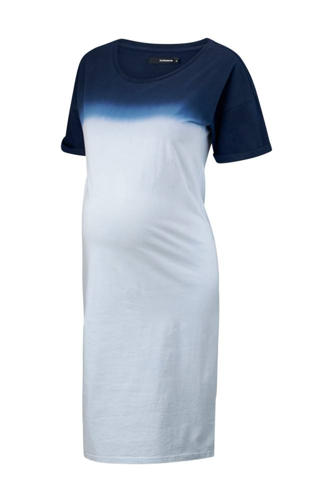 Supermom Dress SS Dipped -äitiysmekko