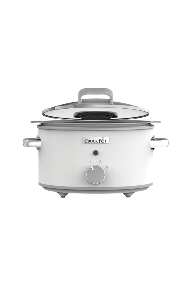 Crock-Pot Slow Cooker 4,5 l Ceramic, valkoinen