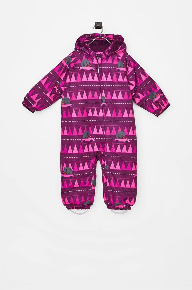 color kids Rimah Mini Padded AOP talvihaalari