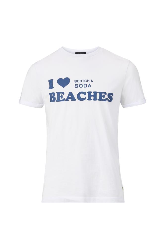 Scotch & Soda Sun Bleached -T-paita